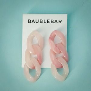 BAUBLEBAR Mirador Link Drop Earrings  NWT